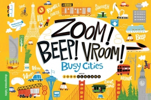 Jacket Image For: Zoom! Beep! Vroom! Busy Cities