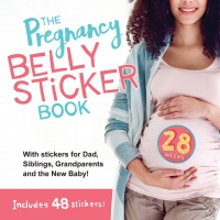 Jacket Image For: The Pregnancy Belly Sticker Book
