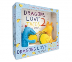 Jacket Image For: Dragons Love Tacos 2 Book and Toy Set